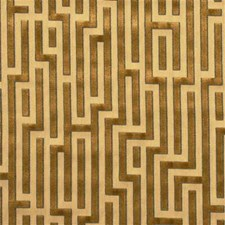 Gold Contemporary Drapery and Upholstery Fabric by G P & J Baker