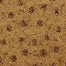 Sand/Chocolate Geometric Drapery and Upholstery Fabric by G P & J Baker