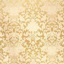 Cream Damask Drapery and Upholstery Fabric by G P & J Baker