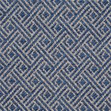 Blue Weave Drapery and Upholstery Fabric by G P & J Baker