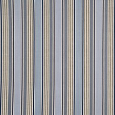 Blue Stripes Drapery and Upholstery Fabric by G P & J Baker