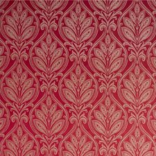 Royal Red Damask Drapery and Upholstery Fabric by G P & J Baker