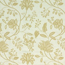 Natural Embroidery Drapery and Upholstery Fabric by G P & J Baker