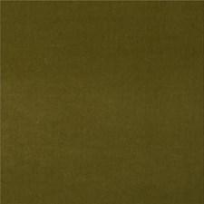 Olive Velvet Drapery and Upholstery Fabric by G P & J Baker