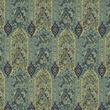 Teal/Indigo Weave Drapery and Upholstery Fabric by G P & J Baker