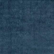 Blue Velvet Drapery and Upholstery Fabric by G P & J Baker