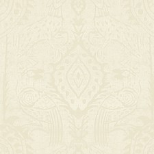 White Animal Drapery and Upholstery Fabric by Lee Jofa