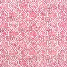 Fuschia Print Drapery and Upholstery Fabric by Lee Jofa
