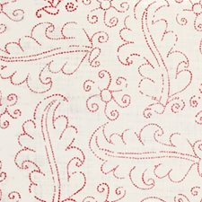 Rose/Oyster Botanical Drapery and Upholstery Fabric by Lee Jofa