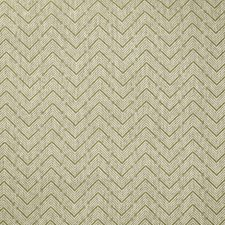 Green Herringbone Drapery and Upholstery Fabric by Lee Jofa