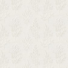 Cream/Off White Floral Drapery and Upholstery Fabric by JF