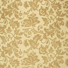 Soft Gold Damask Drapery and Upholstery Fabric by G P & J Baker