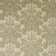 Silver Velvet Drapery and Upholstery Fabric by G P & J Baker