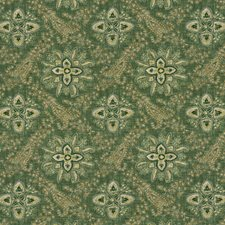 Emerald Paisley Drapery and Upholstery Fabric by G P & J Baker