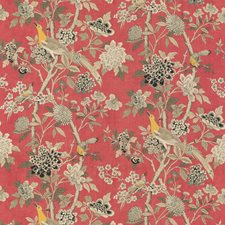 Old Rose Animal Drapery and Upholstery Fabric by G P & J Baker
