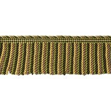 Olive Yellow/Bronze Trim by Brunschwig & Fils
