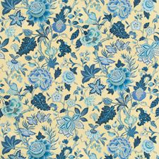 Canary Botanical Drapery and Upholstery Fabric by Brunschwig & Fils
