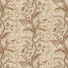 Beige Toile Drapery and Upholstery Fabric by Brunschwig & Fils