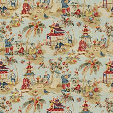 Sky Asian Drapery and Upholstery Fabric by Brunschwig & Fils