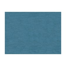 French Blue Velvet Drapery and Upholstery Fabric by Brunschwig & Fils