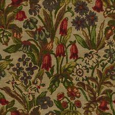Vineyard Print Drapery and Upholstery Fabric by Kravet