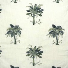 Celadon Tropical Drapery and Upholstery Fabric by Kravet