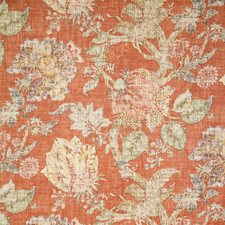 Coral Traditional Drapery and Upholstery Fabric by Pindler