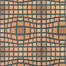 Chocolate/Multi Drapery and Upholstery Fabric by Scalamandre