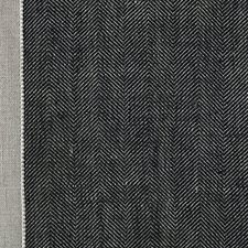 Black/Tan Drapery and Upholstery Fabric by Scalamandre