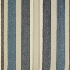 Lapis Stripe Drapery and Upholstery Fabric by Pindler