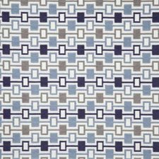 Blue Contemporary Drapery and Upholstery Fabric by Pindler