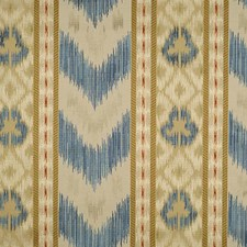 Multi Blues/Creams Drapery and Upholstery Fabric by Scalamandre