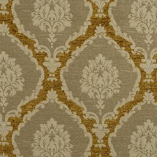Brass Drapery and Upholstery Fabric by Scalamandre