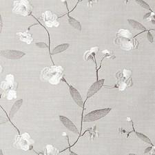 Natural Embroidery Drapery and Upholstery Fabric by Duralee