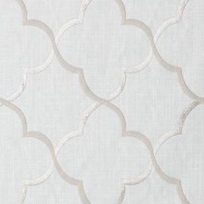 Ivory Embroidery Drapery and Upholstery Fabric by Duralee
