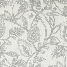 Celadon Embroidery Drapery and Upholstery Fabric by Duralee