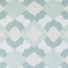 Sea Green Abstract Drapery and Upholstery Fabric by Duralee