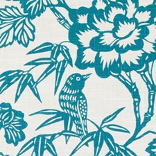 Seaglass Birds Drapery and Upholstery Fabric by Duralee