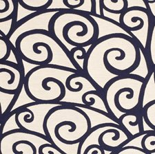 Navy Drapery and Upholstery Fabric by Silver State