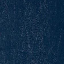 Navy Faux Leather Drapery and Upholstery Fabric by Duralee