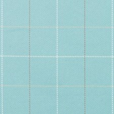 Caribbean Plaid Drapery and Upholstery Fabric by Duralee