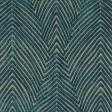 Peacock Abstract Drapery and Upholstery Fabric by Duralee