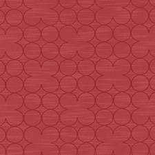Poppy Red Dots Drapery and Upholstery Fabric by Duralee