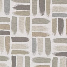 Khaki Abstract Drapery and Upholstery Fabric by Duralee