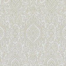 Jute Medallion Drapery and Upholstery Fabric by Duralee