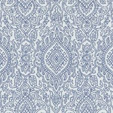 Lapis Medallion Drapery and Upholstery Fabric by Duralee