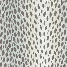 Cocoa/Silver Animal Skins Drapery and Upholstery Fabric by Duralee