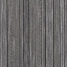 Black/White Stripe Drapery and Upholstery Fabric by Duralee