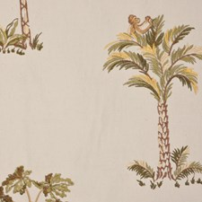 Jungle Drapery and Upholstery Fabric by RM Coco