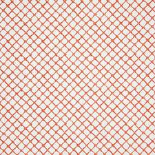 Coral Print Drapery and Upholstery Fabric by Pindler